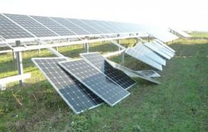 Furto di pannelli solari